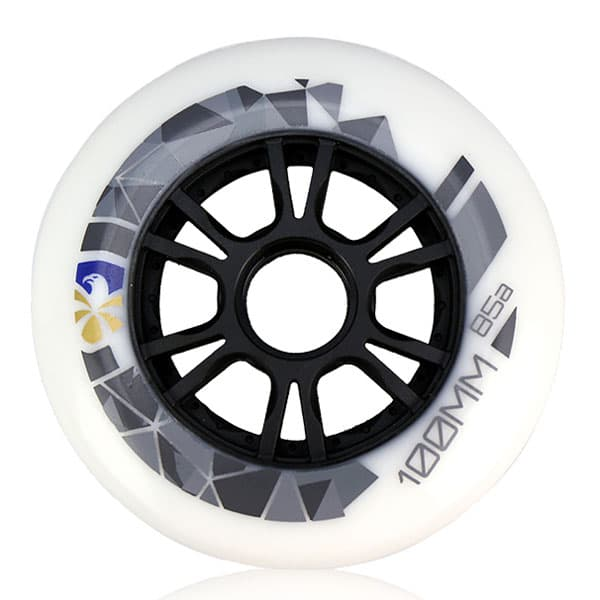 FLYING EAGLE ウィール SHR WHITE 100mm/85A 一個