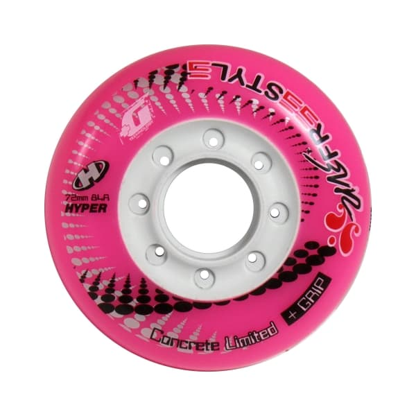 FREESTYLE ウィール CONCRETE +G LTD 84A PINK 一個