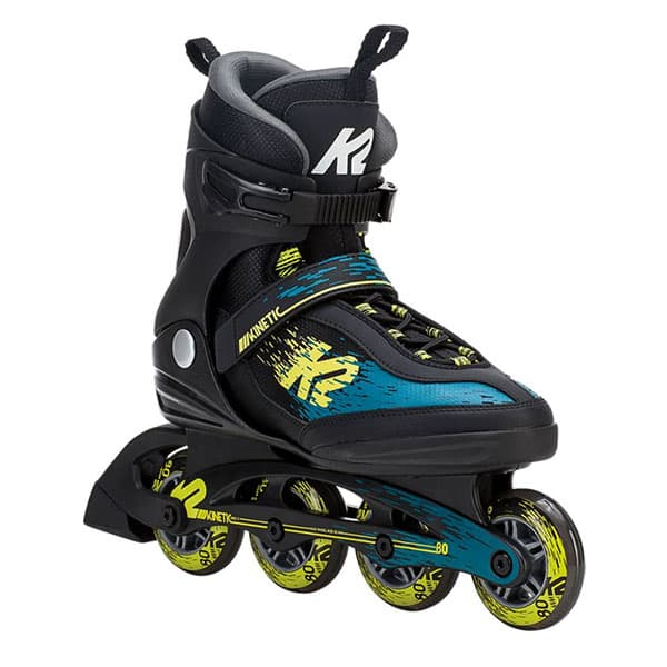 K2 ブーツ KINETIC 80 BLACK&GREEN&YELOW
