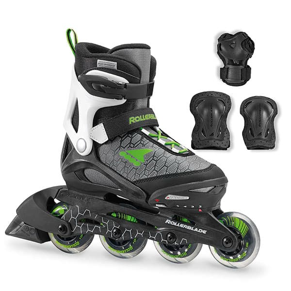 【送料無料】ROLLERBLADE SPITFIRE COMBO BLACK&GREEN