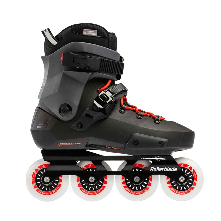 ROLLERBLADE ブーツ TWISTER EDGE BLACK&WARM RED