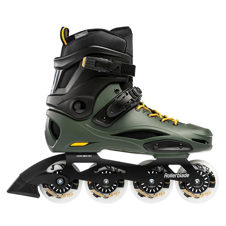 ROLLERBLADE ブーツ RB 80 PRO BLACK&GREEN